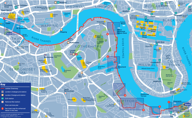 Legible London Walking Maps – Map for London