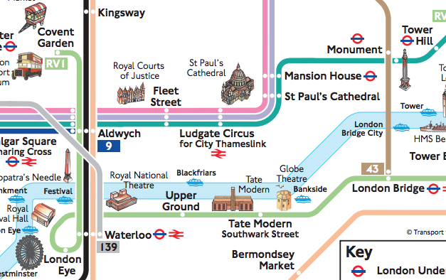 Tour Bus Maps – London Tourist Map Pdf