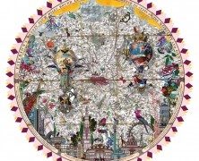Exotic Adornments and Old Maps: The Art of Kristjana S Williams