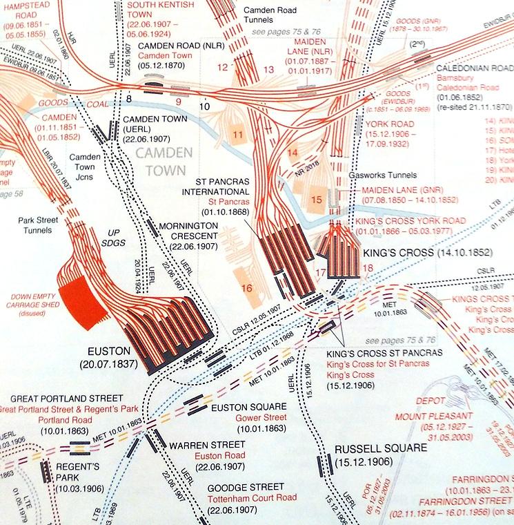 London Atlas Map.London Railway Atlas 4th Ed The Casa Blog Network