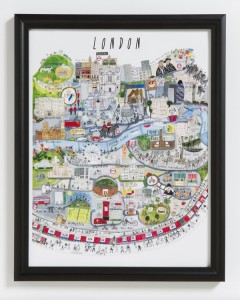 London Mapped Out by Couthie