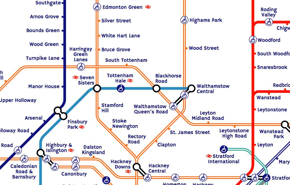 Tfl Overground Map The Tube Map | Mapping London Tfl Overground Map