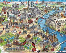 London Landmarks Jigsaw Puzzle