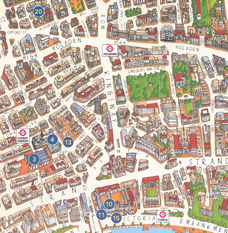 London Tourist Map – Map Of London Tourist Sites