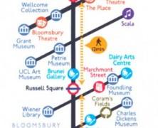 Camden Cultural Line Map