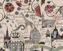 A Flowery London Map