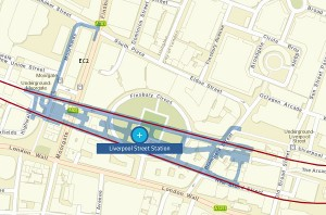 Crossrail Station Footprints