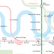 INAT London Metro Map