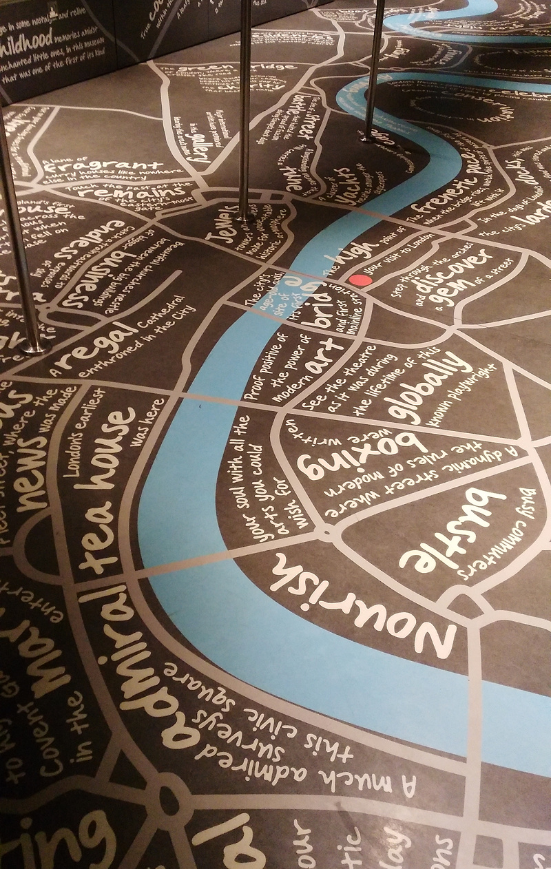 The Map in the Shard