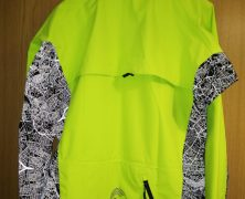 Showerspass Cycling Jacket with London Map