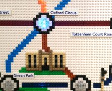 Lego Tube Map!