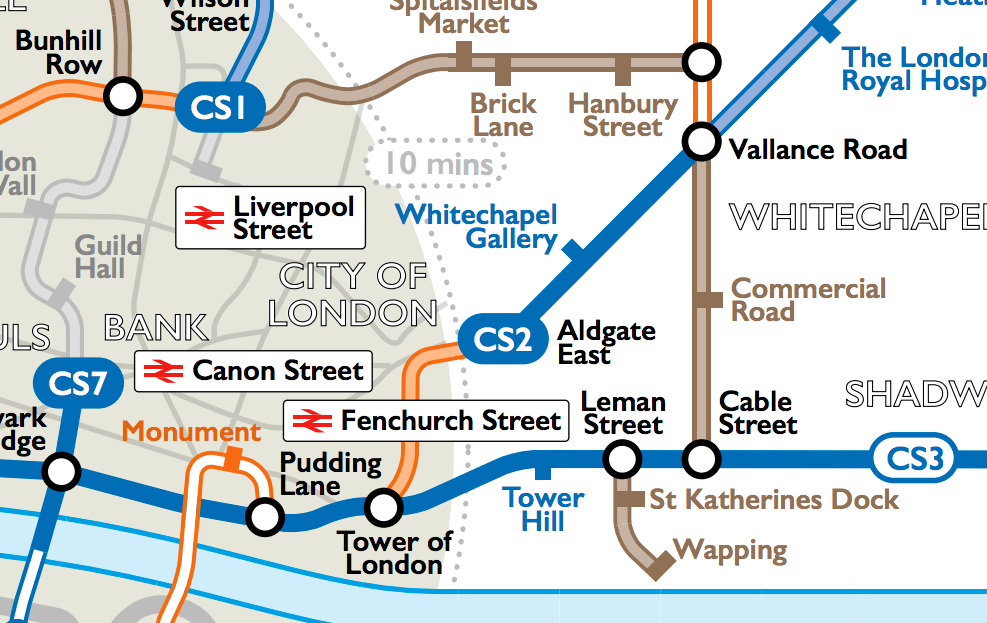 Route Plan Roll Cycle Map
