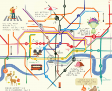 Travelzoo's Summer Map of Free Things