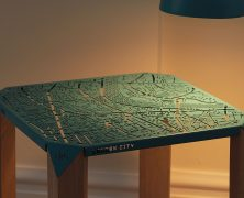 Map on Table