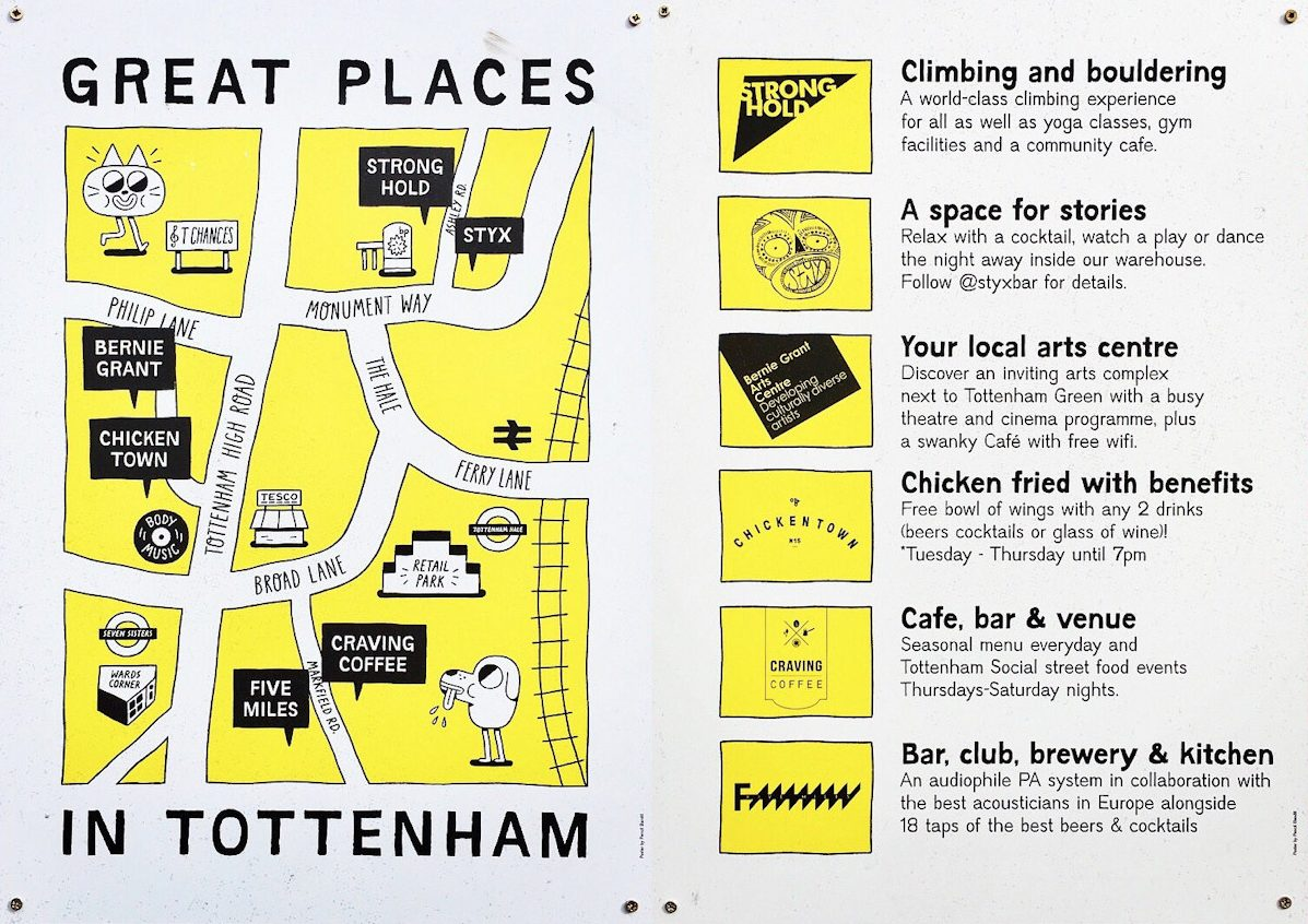 Tottenham London Map.Local Maps Mapping London