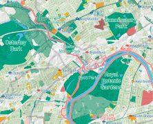 London National Park City Map
