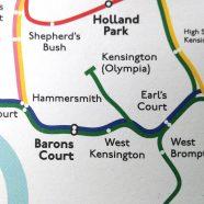 London Underground Architecture & Design Map