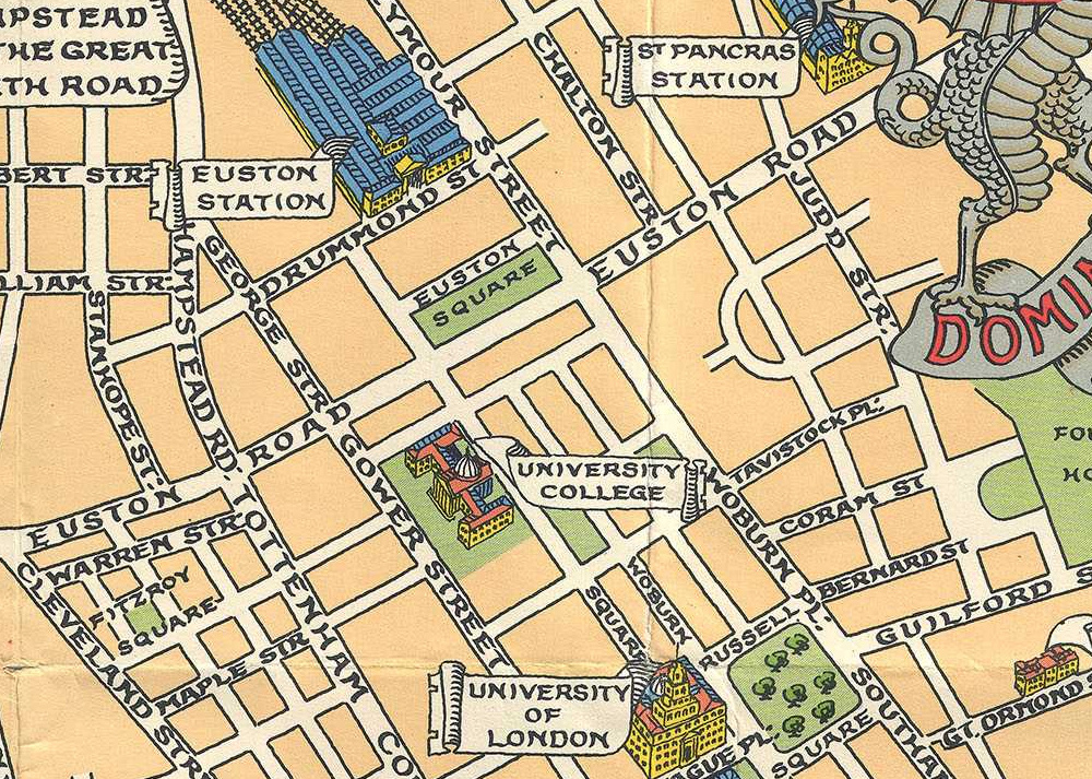 London Map Street.Children S Map Of London Mapping London