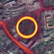 Strava Labs Heatmap of Runners