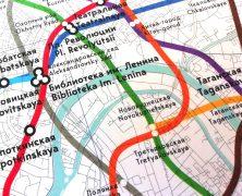 Subway Map Presentation.Mapping London