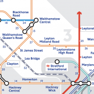 Walking Tube Map – Extended
