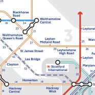 Walking Tube Map – Extended
